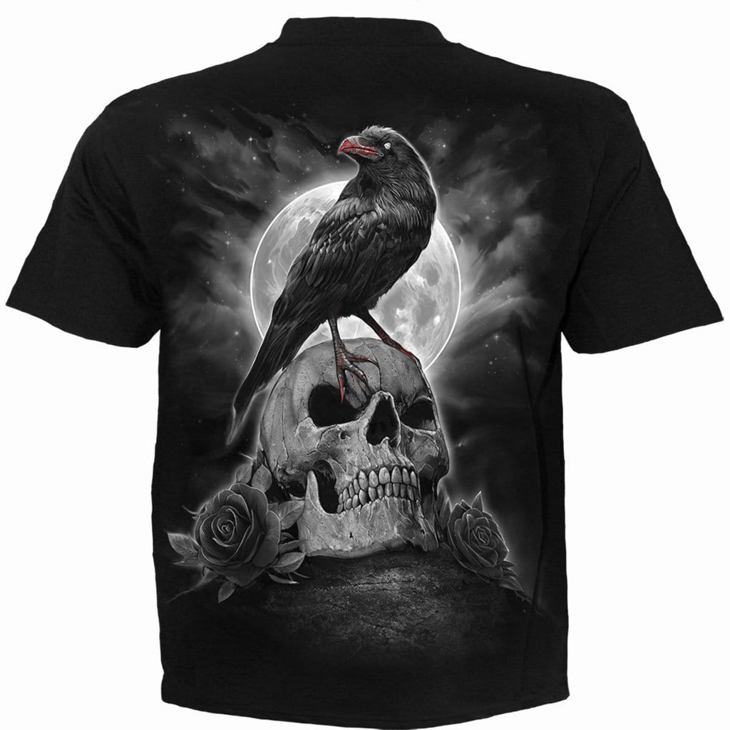 GRAVE WALKER - T-Shirt Black - Spiral USA