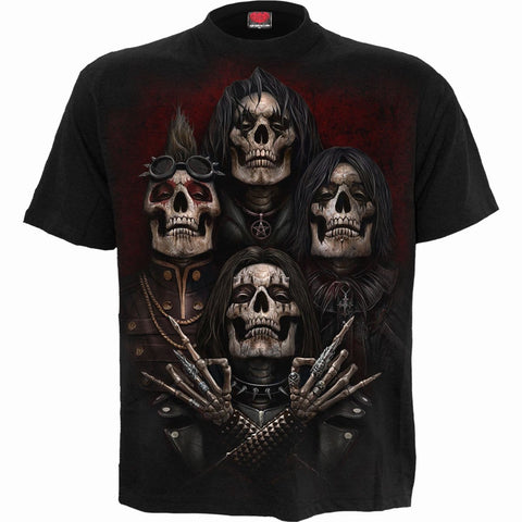 FACES OF GOTH - T-Shirt Black - Spiral USA