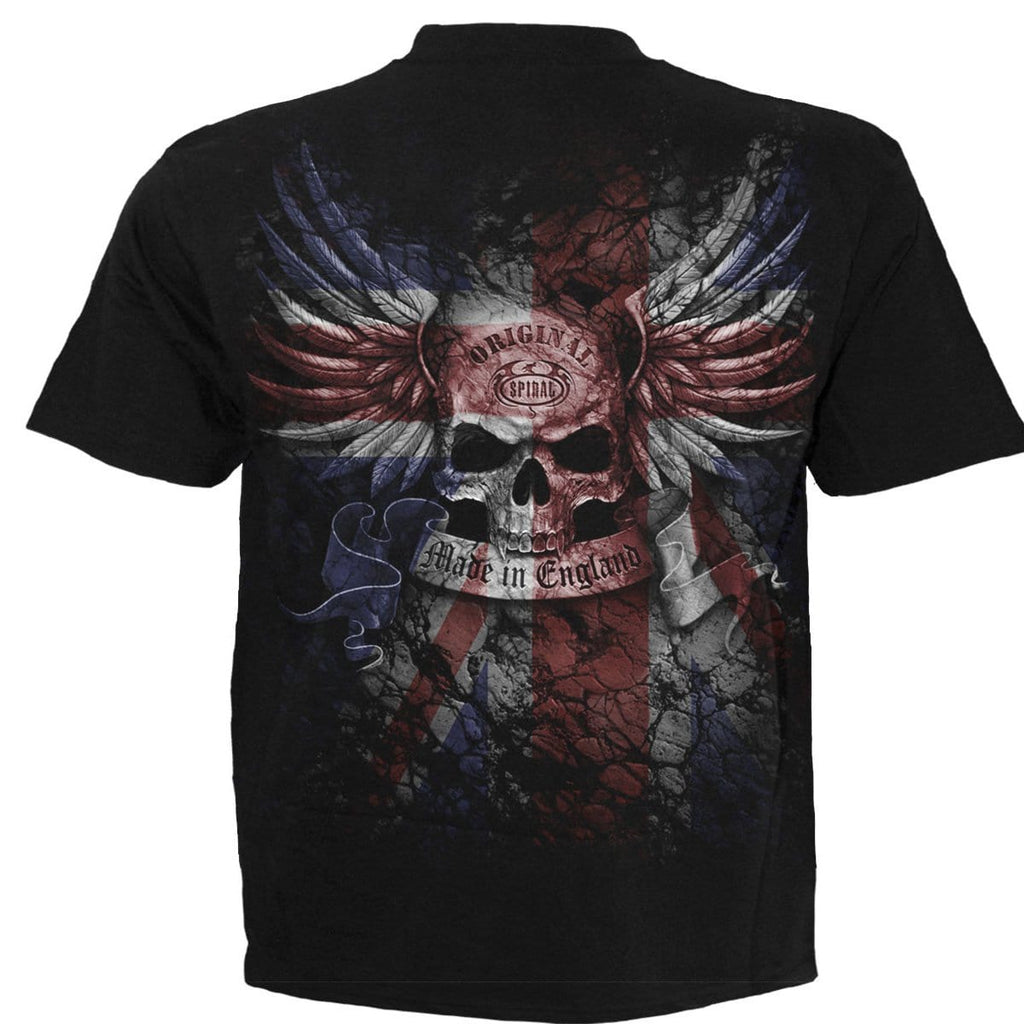 UNION WRATH - T-Shirt Black - Spiral USA