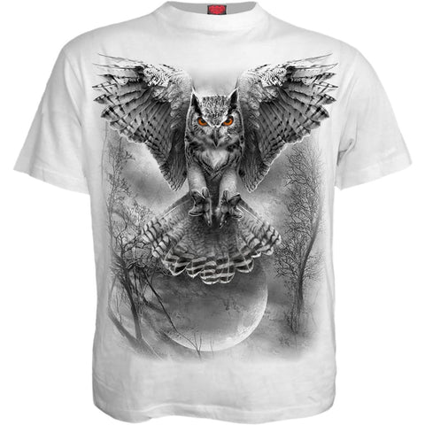 Image of WINGS OF WISDOM - T-Shirt White - Spiral USA