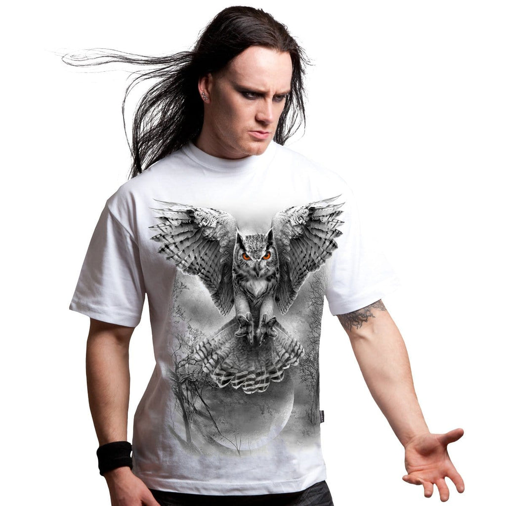 WINGS OF WISDOM - T-Shirt White - Spiral USA