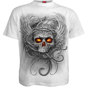 ROOTS OF HELL - T-Shirt White - Spiral USA