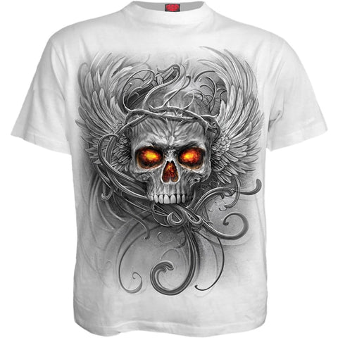 Image of ROOTS OF HELL - T-Shirt White