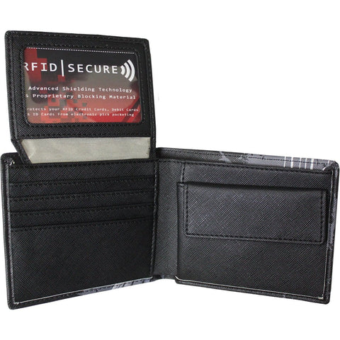 BAT CURSE - BiFold Wallet with RFID Blocking and Gift Box - Spiral USA