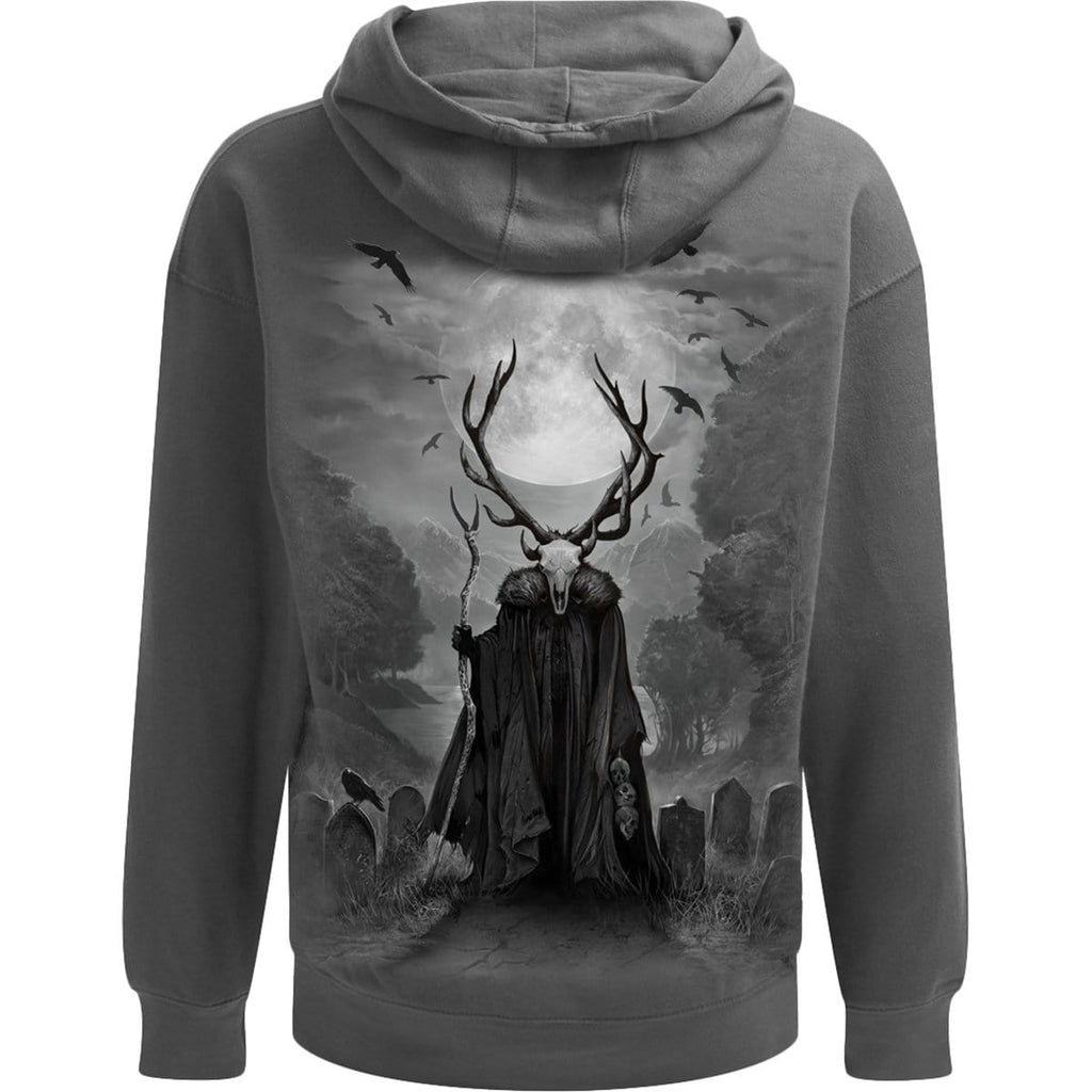 HORNED SPIRIT - Hoody Charcoal - Spiral USA