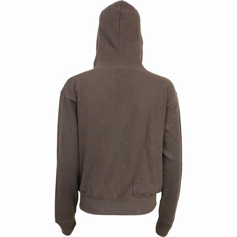 Image of FOREST WOLF - Full Zip Hoody Chocolate - Spiral USA