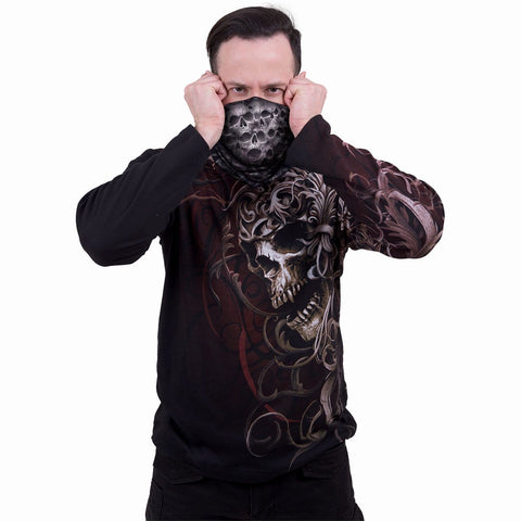 TWISTED SKULLS - Multifunctional Face Wraps - Spiral USA
