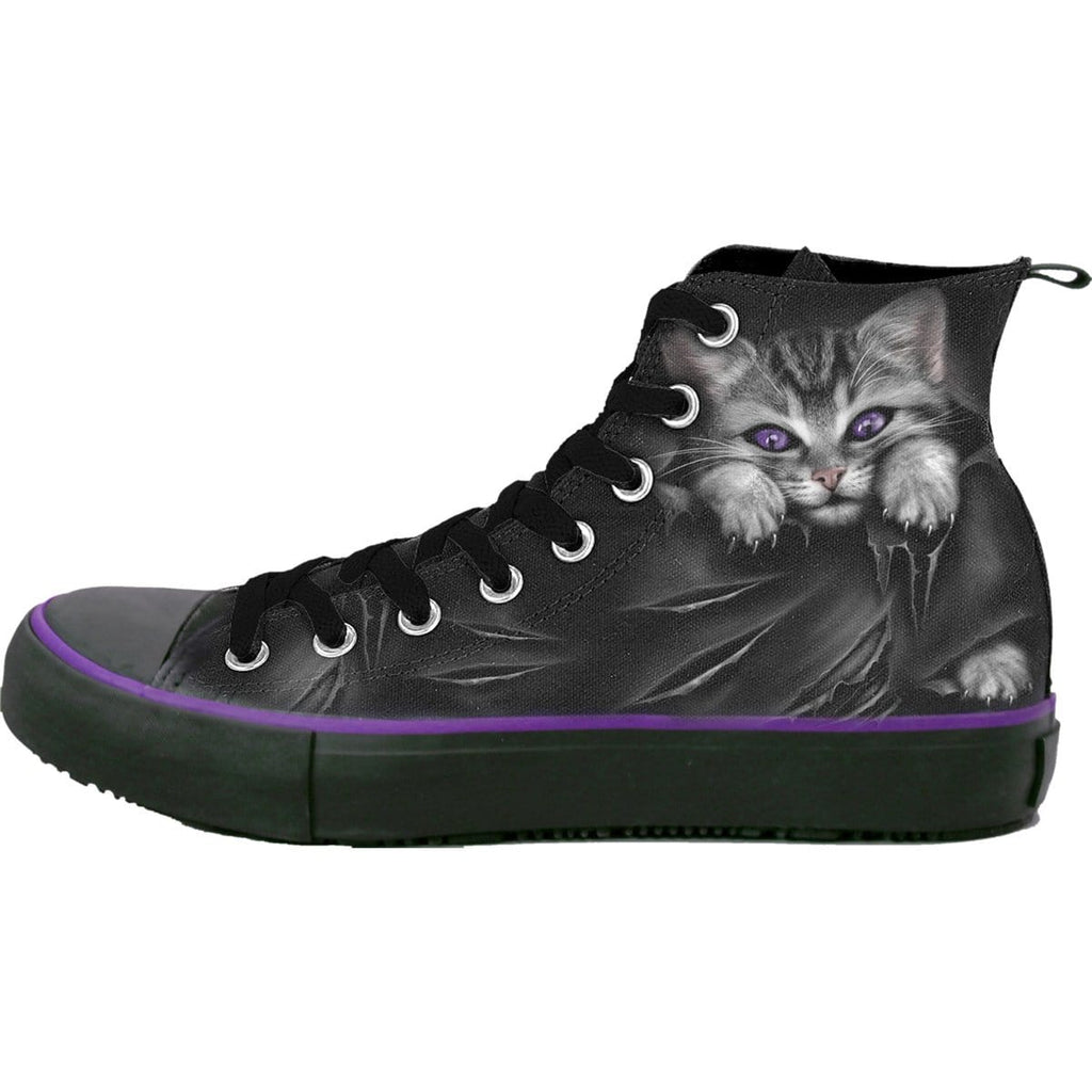 BRIGHT EYES - Sneakers - Ladies High Top Laceup - Spiral USA