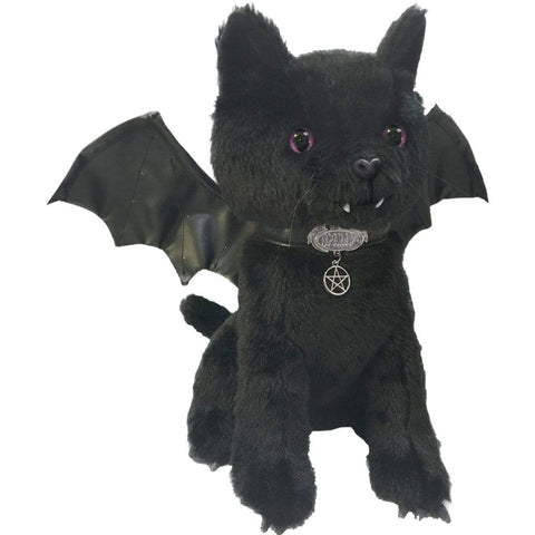 Image of BAT CAT - Winged Collectable Soft Plush Toy 12 inch - Spiral USA