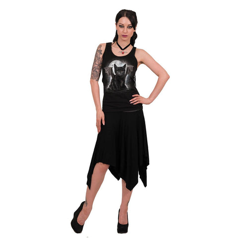 BAT CAT - Razor Back Top Black - Spiral USA