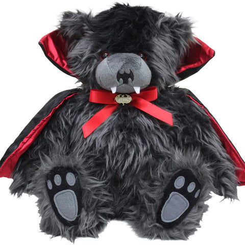 Image of TED THE IMPALER - TEDDY BEAR - Collectable Soft Plush Toy 12 inch - Spiral USA