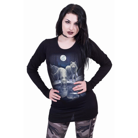 WARRIORS OF WINTER - Baggy Top Black
