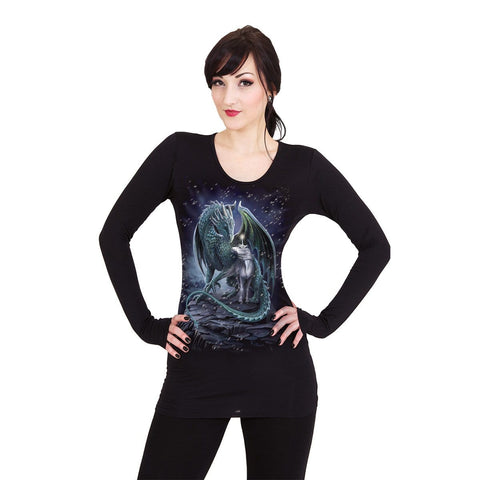 Image of PROTECTOR OF MAGIC - Baggy Top Black - Spiral USA