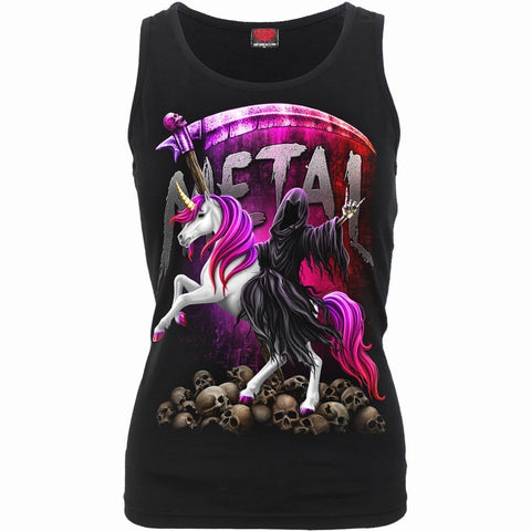 METALLICORN - Razor Back Top Black - Spiral USA