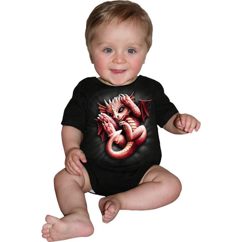 WHELP - Baby Sleepsuit Black - Spiral USA