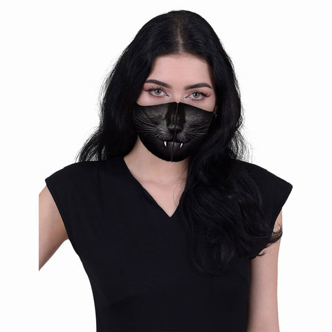 CAT FANGS - Face Mask - Spiral USA