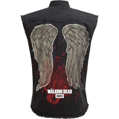 DARYL WINGS - Walking Dead Stone Washed Worker - Spiral USA