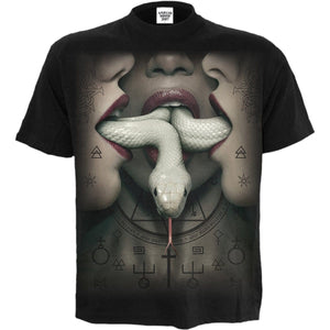 COVEN - SNAKEMOUTH - American Horror Story T-Shirt Black - Spiral USA