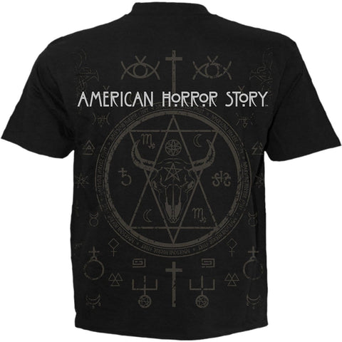 Image of COVEN - SNAKEMOUTH - American Horror Story T-Shirt Black - Spiral USA