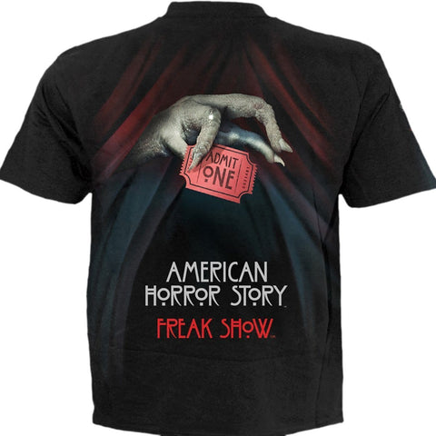 FREAK SHOW - American Horror Story T-Shirt Black