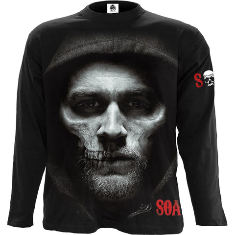 JAX SKULL - Sons of Anarchy Longsleeve Black