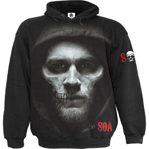 Image of JAX SKULL - Sons of Anarchy Hoody Black - Spiral USA
