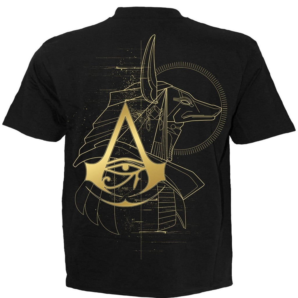 ORIGINS - ANUBIS - Assassins Creed T-Shirt Black - Spiral USA