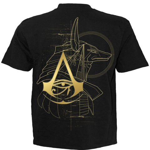 Image of ORIGINS - ANUBIS - Assassins Creed T-Shirt Black - Spiral USA