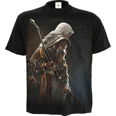 ORIGINS - BAYEK - Assassins Creed T-Shirt Black - Spiral USA