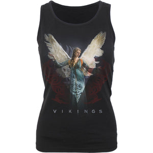 VIKINGS - ANGEL - Vikings Razor Back Top Black - Spiral USA