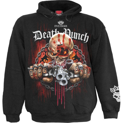 Image of 5FDP - ASSASSIN - Licensed Band Hoody Black - Spiral USA