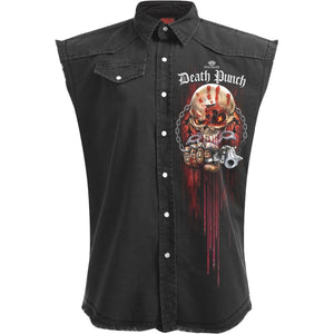 5FDP - ASSASSIN - Licensed Band Stone Washed Worker