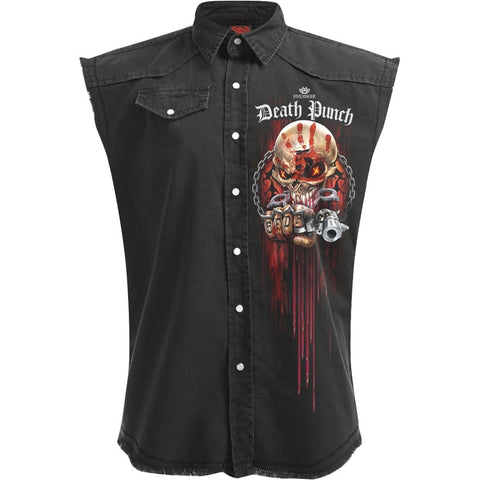 Image of 5FDP - ASSASSIN - Licensed Band Stone Washed Worker