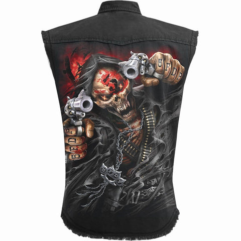 5FDP - ASSASSIN - Licensed Band Stone Washed Worker - Spiral USA