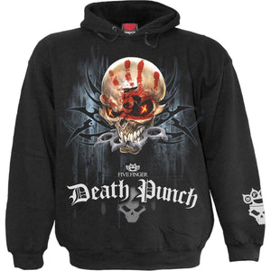 5FDP - GAME OVER - Licensed Band Hoody Black - Spiral USA