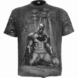 BATMAN - VENGEANCE WRAP - Allover T-Shirt Black