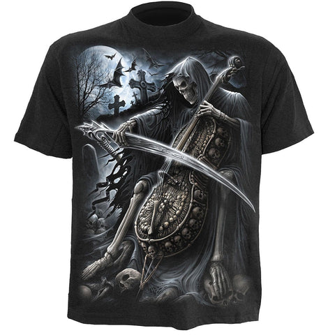 Image of SYMPHONY OF DEATH - T-Shirt Black - Spiral USA