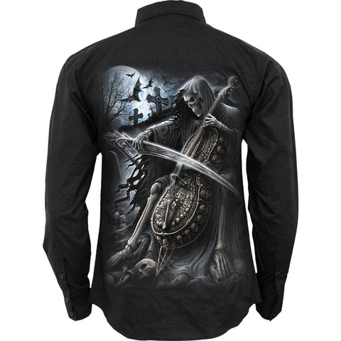 Image of SYMPHONY OF DEATH - Longsleeve Casual Shirt