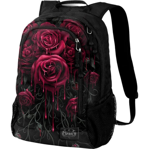 BLOOD ROSE - Back Pack - With Laptop Pocket - Spiral USA