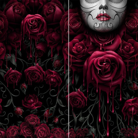 Image of BLOOD ROSE - Multifunctional Face Wraps - Spiral USA