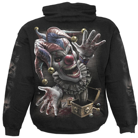 Image of JACK IN THE BOX - Hoody Black - Spiral USA