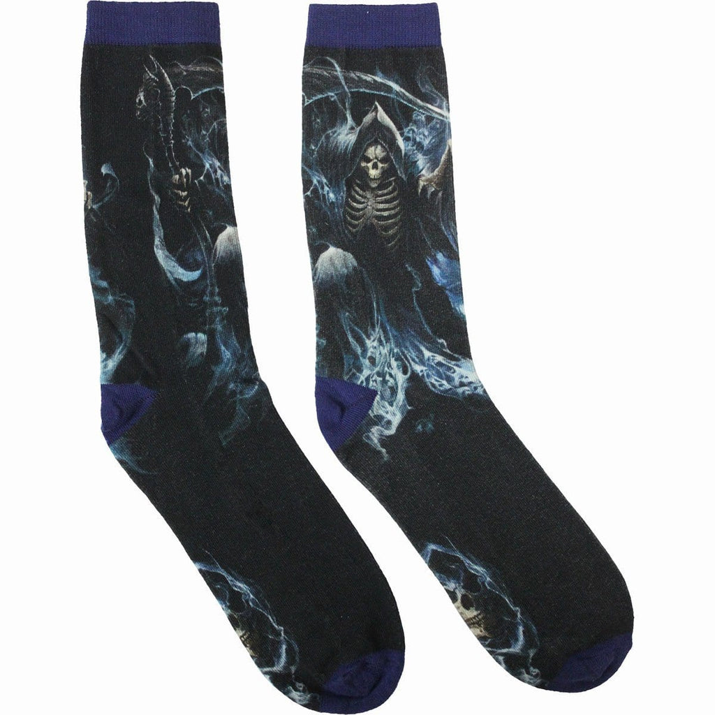 GHOST REAPER - Unisex Printed Socks - Spiral USA