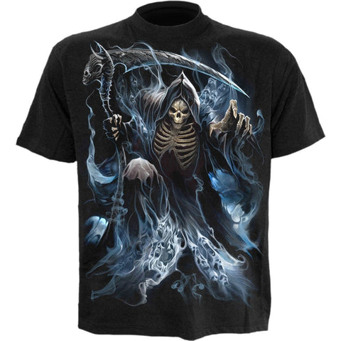 Image of GHOST REAPER - T-Shirt Black - Spiral USA