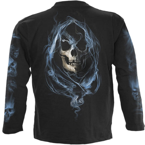Image of GHOST REAPER - Longsleeve T-Shirt Black - Spiral USA