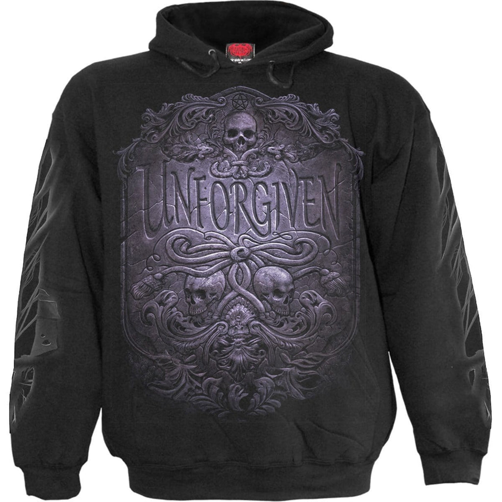 UNFORGIVEN - Hoody Black - Spiral USA