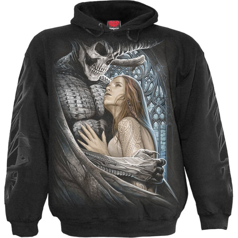 DEVIL BEAUTY - Hoody Black - Spiral USA