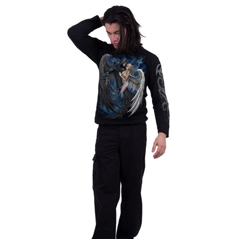 Image of FALLEN … - Longsleeve T-Shirt Black - Spiral USA