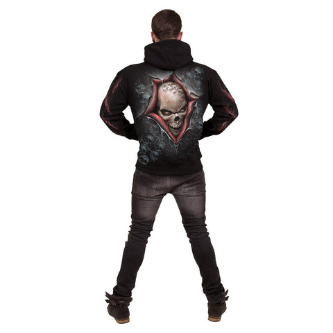Image of STRANGLER - Hoody Black - Spiral USA