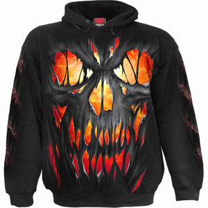 FRIGHT NIGHT - Hoody Black - Spiral USA