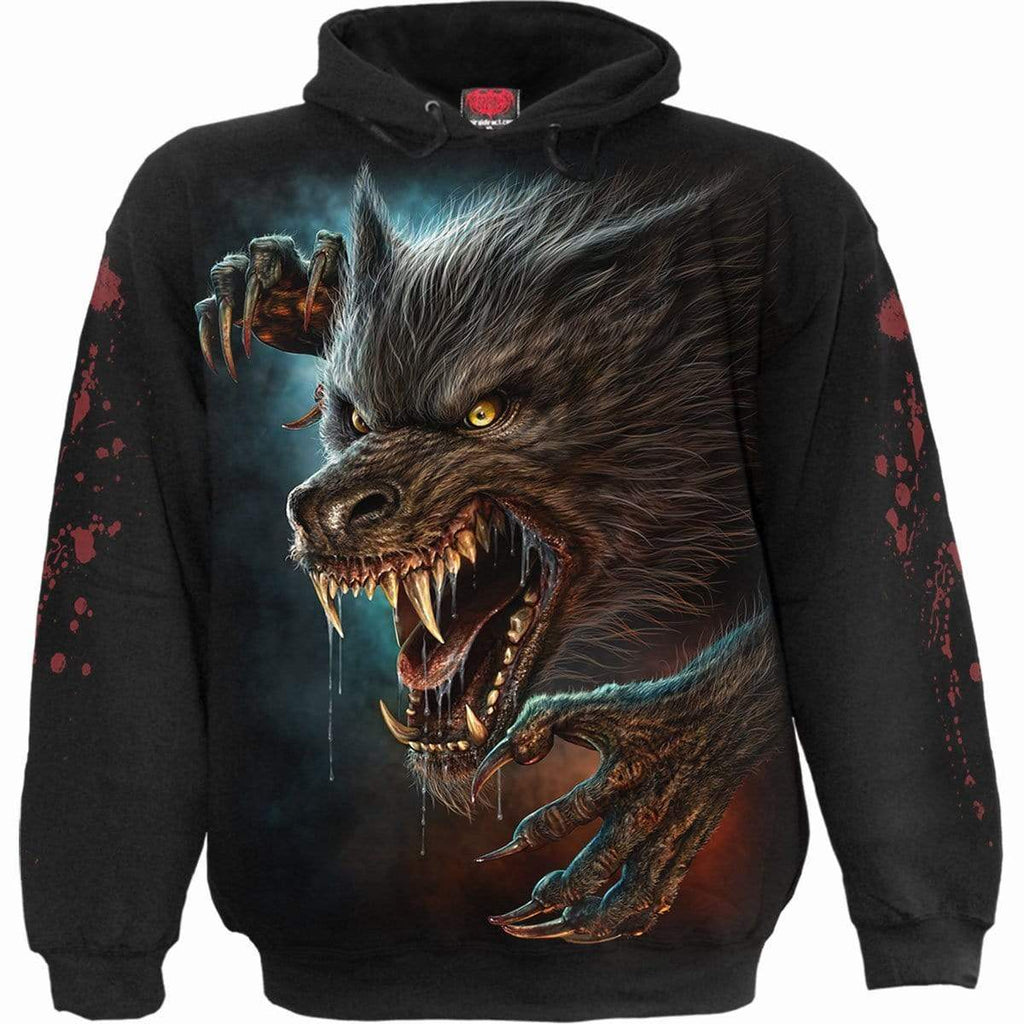 WILD MOON - Hoody Black - Spiral USA